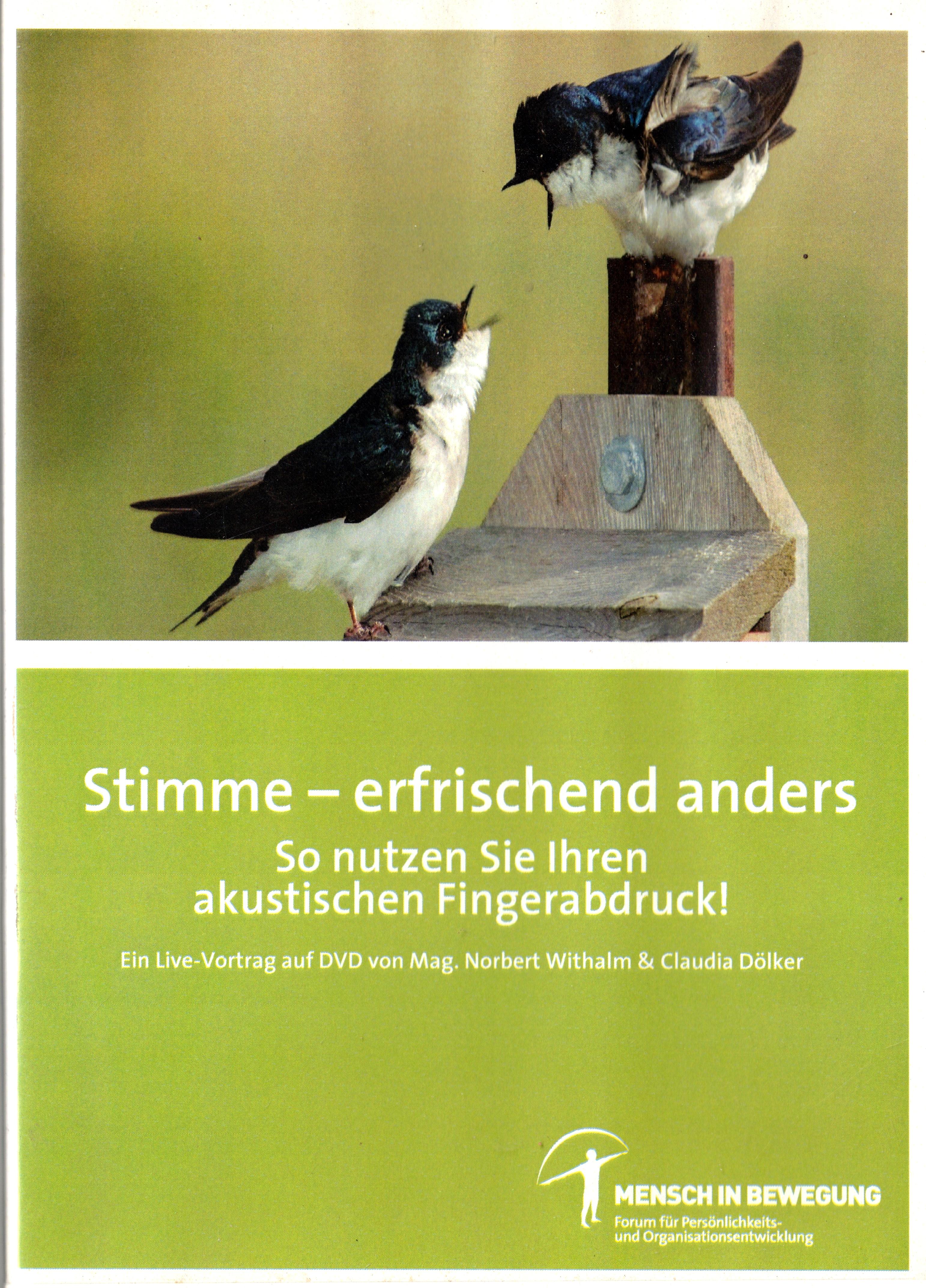 DVD-Workshop Stimme erfrischend anders - mit Norbert Withalm