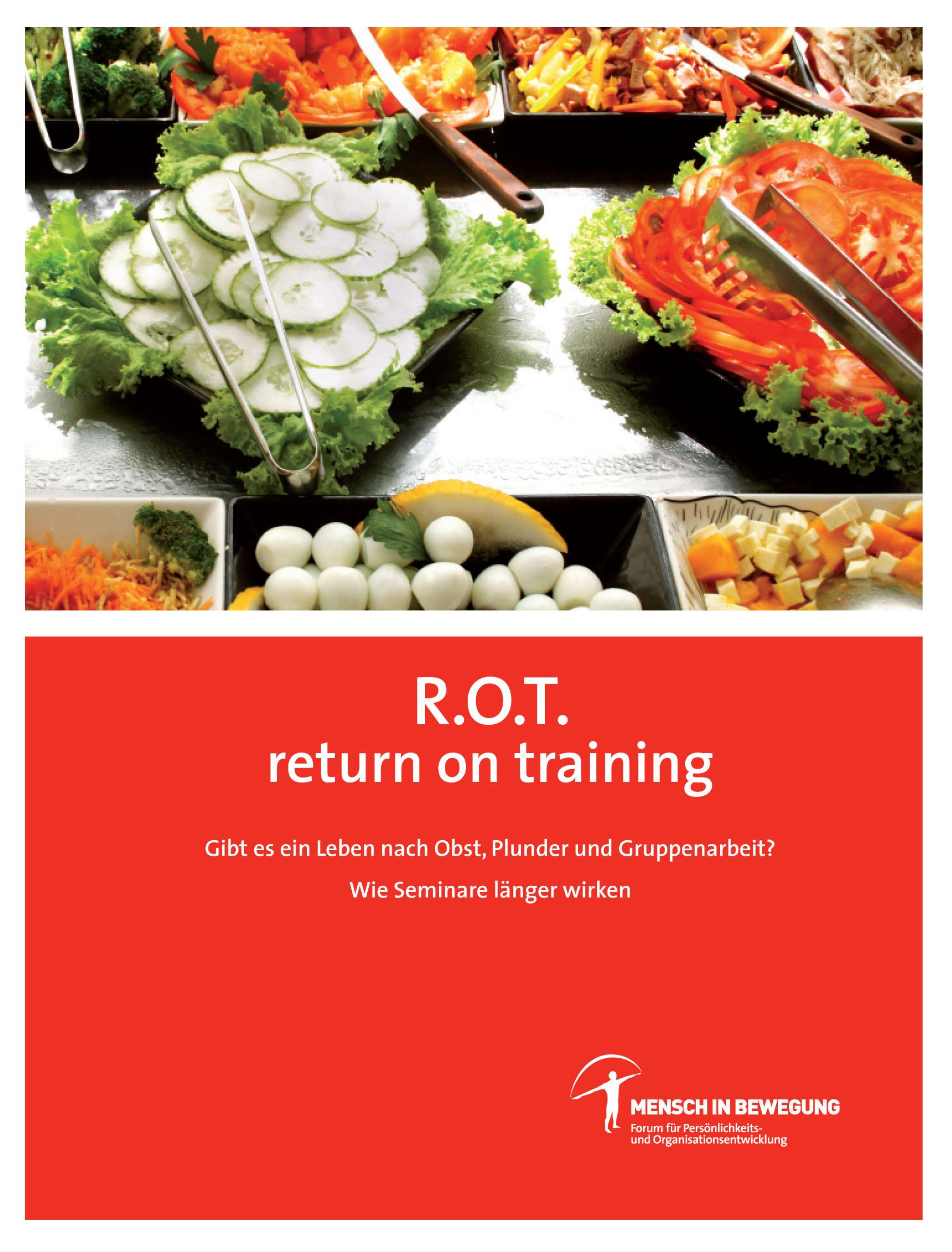 Norbert Withalm - Return On Training - ROT Buch