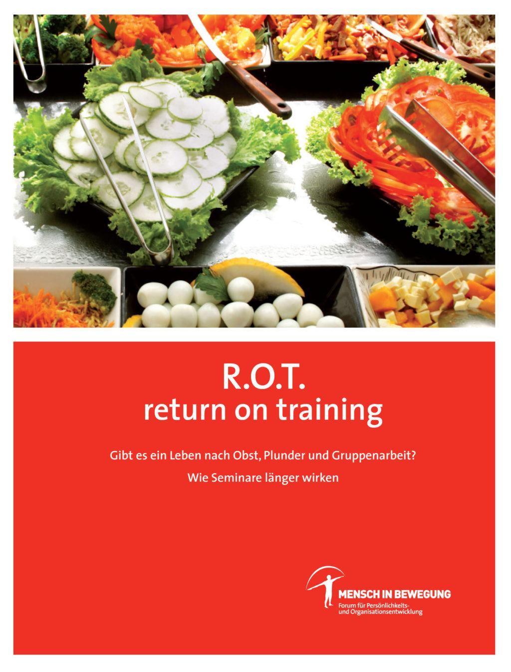 Buchcover R.O.T. Return On Training - von Mag Norbert Withalm & Mensch in Bewegung