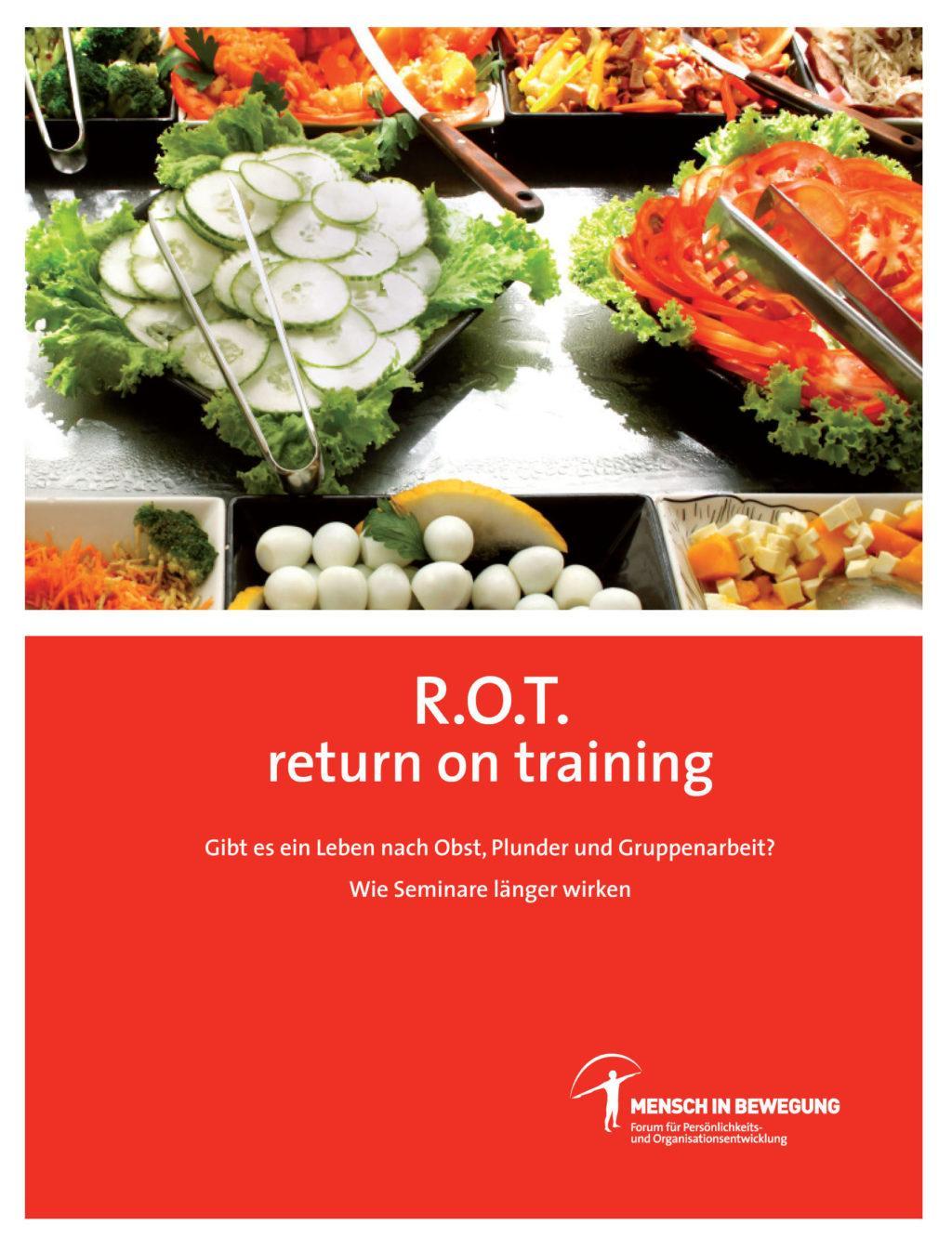 Buchcover R.O.T. Return On Training - von Mag Norbert Withalm & Mensch in Bewegung